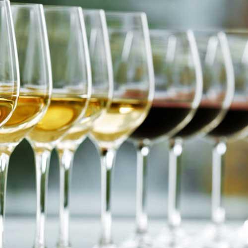 قائمة النبيذ